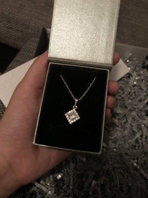 Collier Necklace silver-colored glas