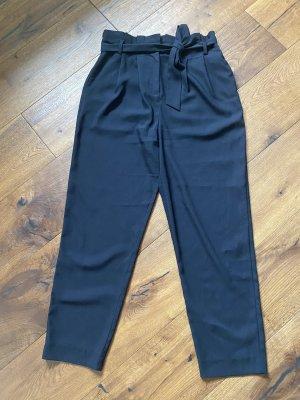 Hallhuber 7/8 Length Trousers black