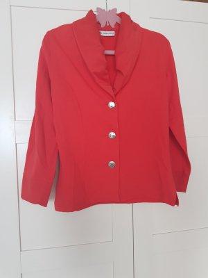 No1 Mode Express Veste chemisier argenté-rouge
