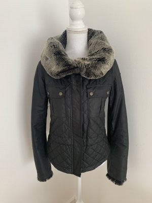 Belstaff Fur Jacket grey brown