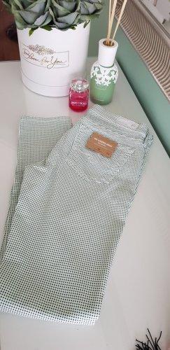 AG Jeans Skinny jeans wit-grasgroen Gemengd weefsel