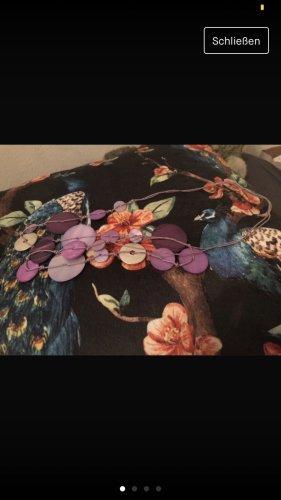 Collar de conchas lila-lila