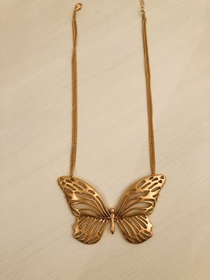 Topshop Necklace gold-colored