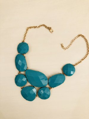 Topshop Necklace turquoise
