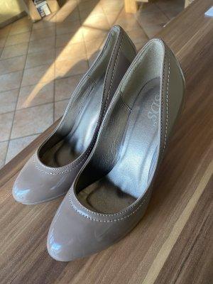 Wunderschoene khaki high heels