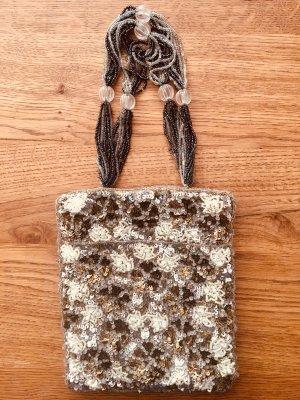 wunderschöne kleine Pailletten Tasche, ideal für den Abend oder Sommer