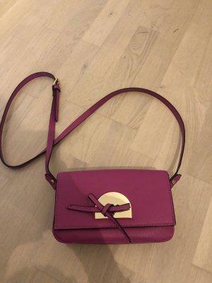 Zara Borsa a spalla viola