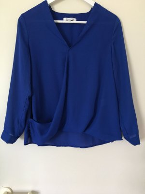 Wunderschöne königsblaue Bluse