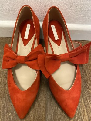 H&M Mary Jane Ballerinas red