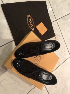 Tod's Stivaletto stringato marrone-nero