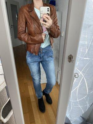 Wunderschöne Lederjacke von Zara, neu mit Etikett