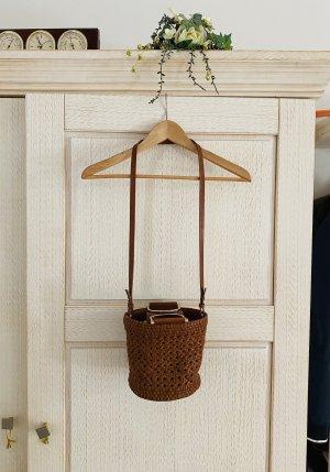 & other stories Basket Bag cognac-coloured leather