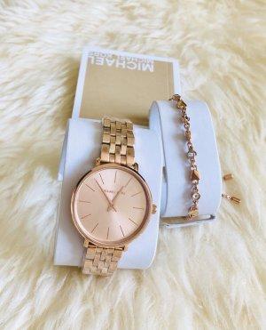 Wunderschöne MK Uhr & Armband Set - Neu