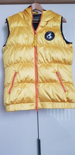 Closed Down Vest yellow