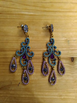 Dangle purple-light blue