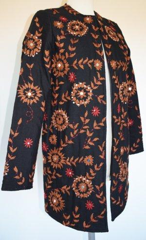 Wunderschöne Quilt Jacke in Farben des Herbstes - neu