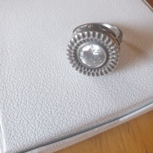 925 Silver Ring silver-colored