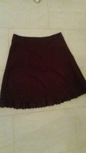Zero Falda de encaje multicolor Algodón