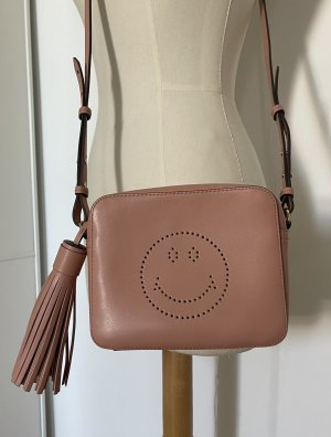 Wunderschöne roséfarbene Tasche von Anya Hindmarch
