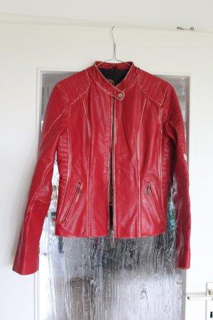Wunderschöne rote Lederjacke von Gipsy