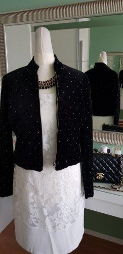 Bandolera Short Jacket black mixture fibre