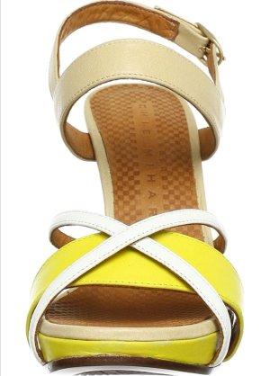 Chie Mihara Platform High-Heeled Sandal multicolored