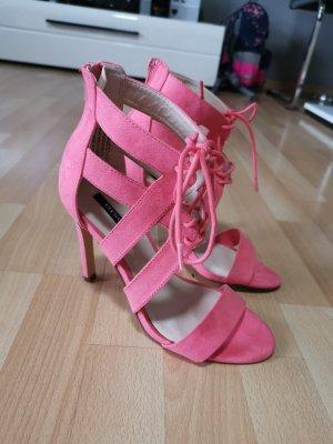 Wunderschöne Sandalette von Orsay, Riemchen, High Heels Pumps Schuhe, Must Have