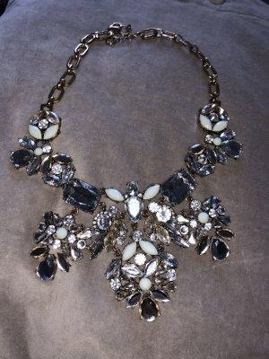 Wunderschöne schicke Halskette kurze kette Chanel Look Weihnachtskette