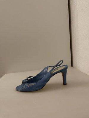 Marc Jacobs Sandales à lanière bleu azur-bleuet