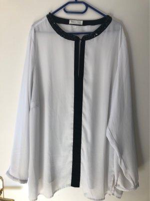 bpc selection Blusa de manga larga blanco-negro
