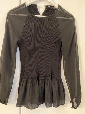 Wunderschöne schwarze Bluse