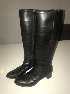 Wunderschöne schwarze italienische Stiefel, Cadoro Venezia, Größe 38/XS