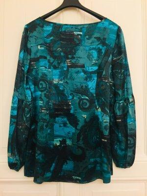 Tuzzi Blusa in seta multicolore