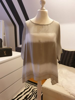 Oversized Blouse natural white-pale green