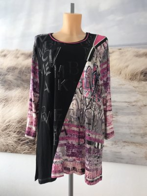 Camicia a tunica multicolore Viscosa