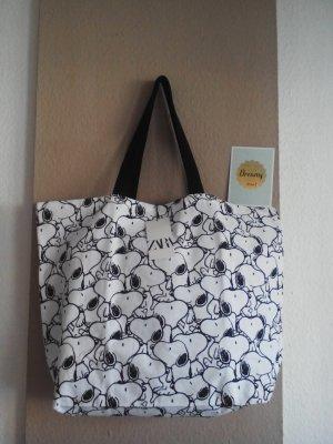 wunderschöne Shopper Tasche mit Snoopy-Print, neu