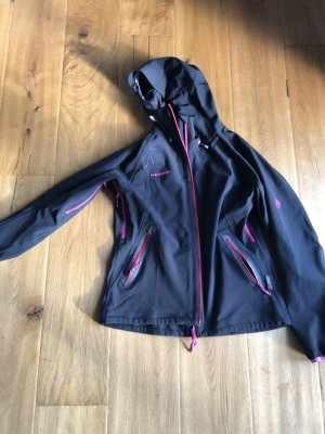 Mammut Softshell Jacket black-pink