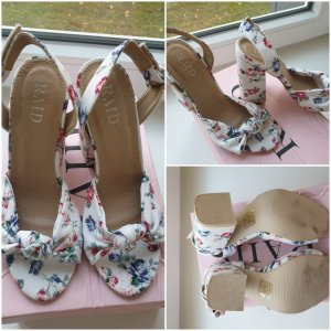RAID Strapped High-Heeled Sandals multicolored