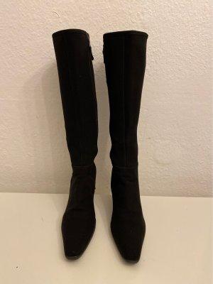 Prada Stretch laarzen zwart Nylon