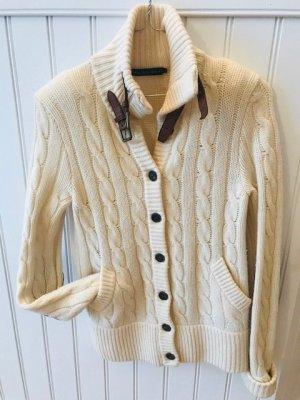 Lauren by Ralph Lauren Veste en laine crème laine