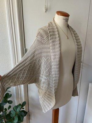 Zara Knit Cardigan a maglia grossa beige chiaro-beige