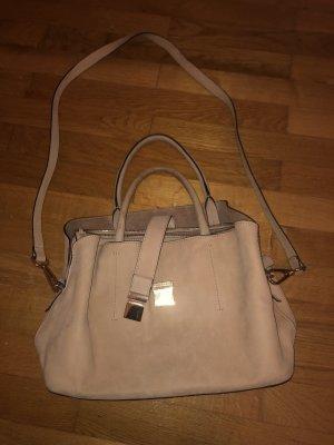 Wunderschöne Tasche Rose Leder H&M
