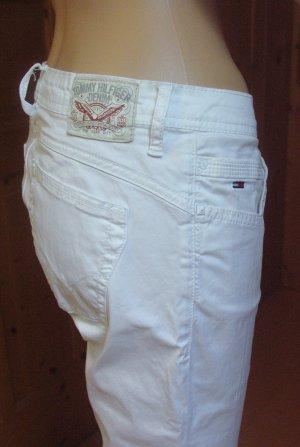 Tommy Hilfiger Low Rise Jeans white mixture fibre