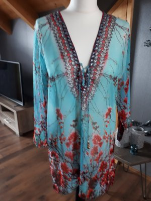 Tenue de plage multicolore viscose