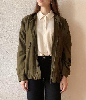 Vintage Blouson verde scuro