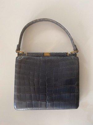 Wunderschöne Vintage Kroko Tasche
