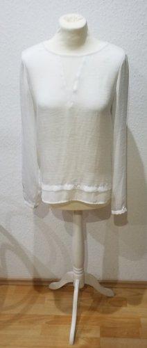 Wunderschöne weiße Esprit Collection Bluse, Größe 34