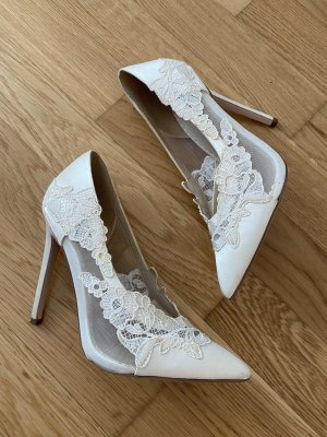 Wunderschöne weisse high heels von Asos