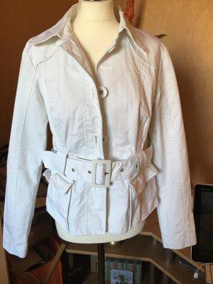 Wunderschöne weiße Jacke große 40