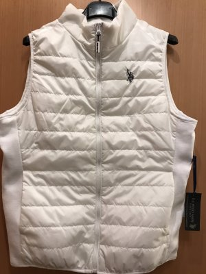 U.s. polo assn. Quilted Gilet white